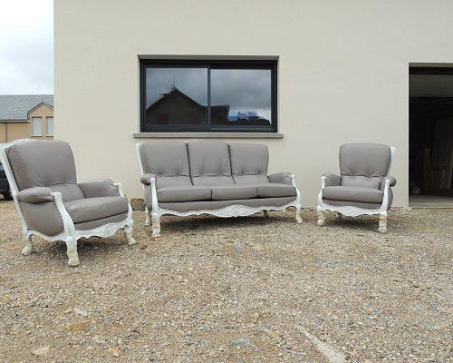 SEDENTaire salon cuir canapé fauteuils tapissier sellier restauration Aveyron Lozere Tarn Aubrac