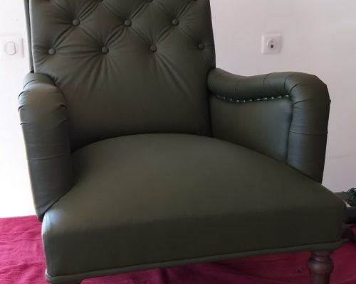 Fauteuil Napoleon lll