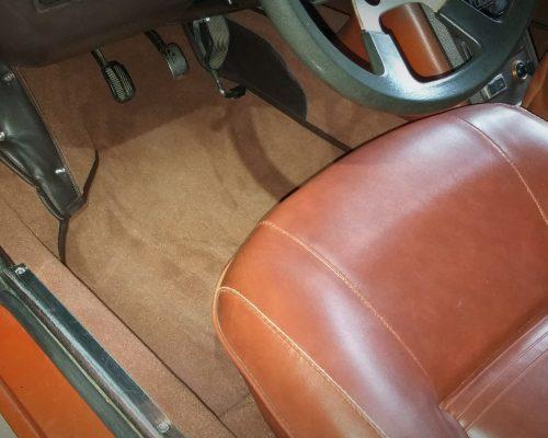 Fiat X19 Bertone moquette SEDENtaire sellier Aveyron Lozere sellerie automobile