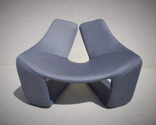 Housse fauteuil ZEN STEINER PARIS refection habillage Relooker SEDENTaire Tapissier AVEYRON
