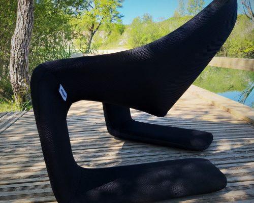 SEDENTaire design contemporain fauteuil ZEN Steiner Paris housse Tapissier Aveyron Lozere